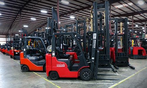 Used Forklifts   Raymond RENEWED   Carolina Handling