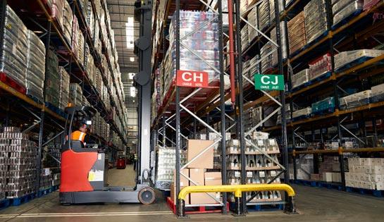Warehouse Racking from Carolina Handling