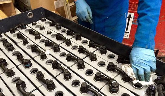 Forklift Battery Maintenance Program