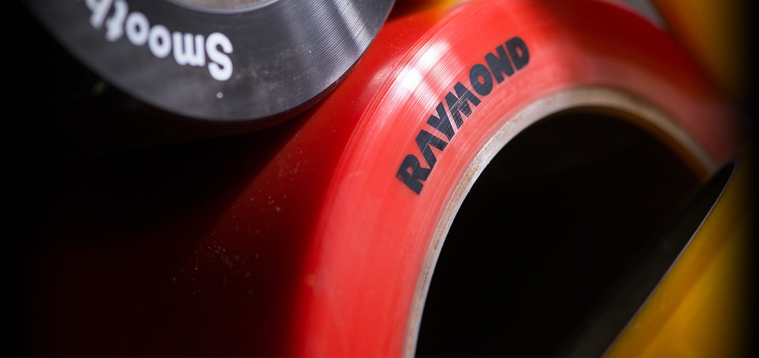 Raymond Wheels, parts of a forklift