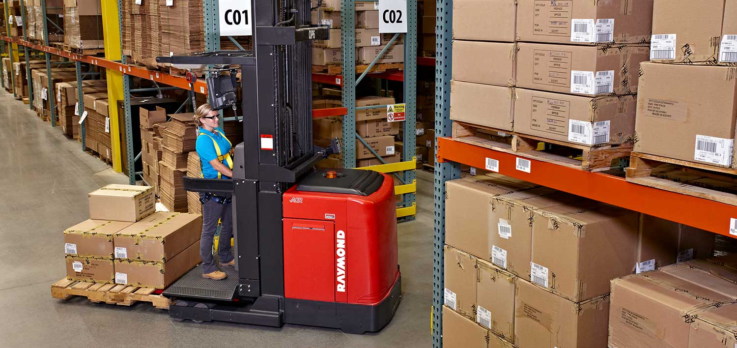 Order Pickers, Order Picker Forklifts, Raymond Order Pickers