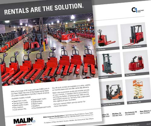 Malin Rental Brochure