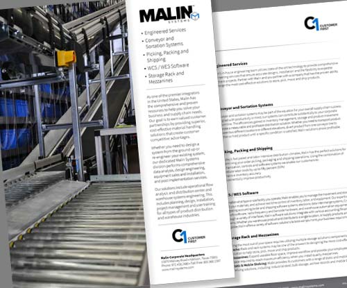 Malin Systems Brochure