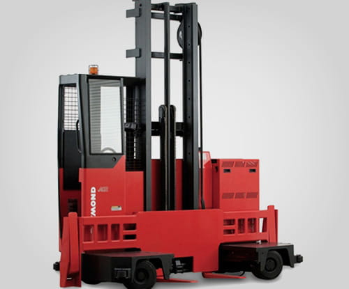 raymond lift truck, side loader, narrow aisle, forklift dallas, forklift houston