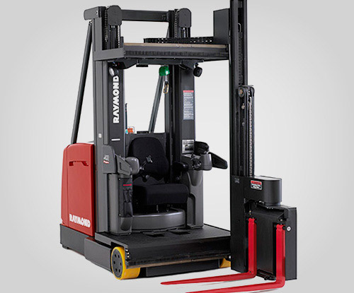 raymond lift truck, swing reach truck, narrow aisle, forklift dallas, forklift houston