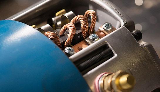 Malin Rebuilt Forklift Motor