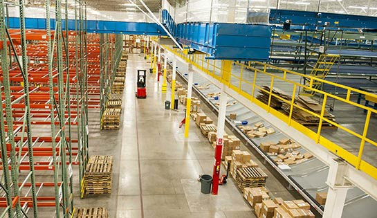 Warehouse Mezzanine, Mezzanines